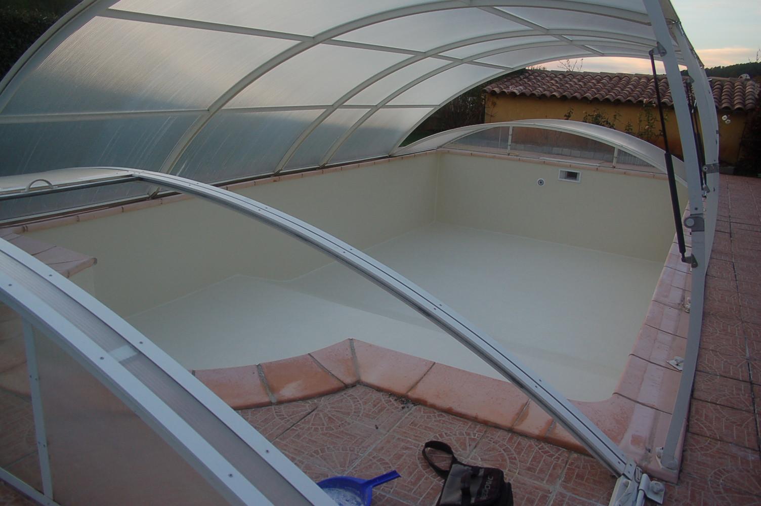 R novation piscine liner en polyester - Renovation piscine coque polyester ...
